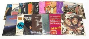 Predominantly reggae vinyl LP's includin...
