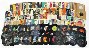 45rpm records including Buddy Holly, Sta...