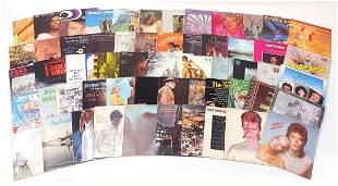 Vinyl LP's including Black Sabbath, Davi...