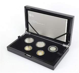 Elizabeth II 2015 silver proof commemora...