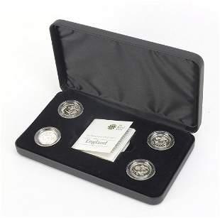 Elizabeth II Icons of a Nation silver pr...