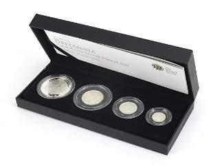 Elizabeth II 2010 Britannia four coin si...