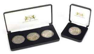 Queen Victoria silver crown collection a...