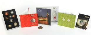 Commemorative coins by The Royal Mint in...