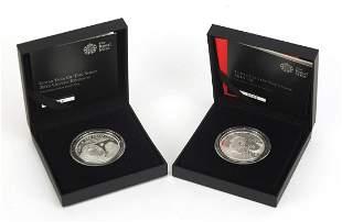 Two Elizabeth II Shengxiao collection on...