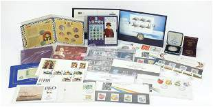 British coinage and stamps, some mint an...