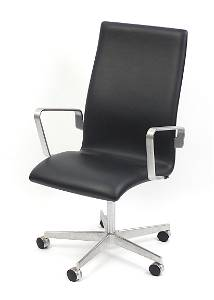 Arne Jacobsen for Fritz Hansen, 3273C Oxford chair,