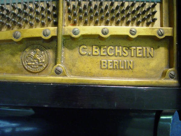 68: Ebonised C Bechstein baby grand piano with matching - 3