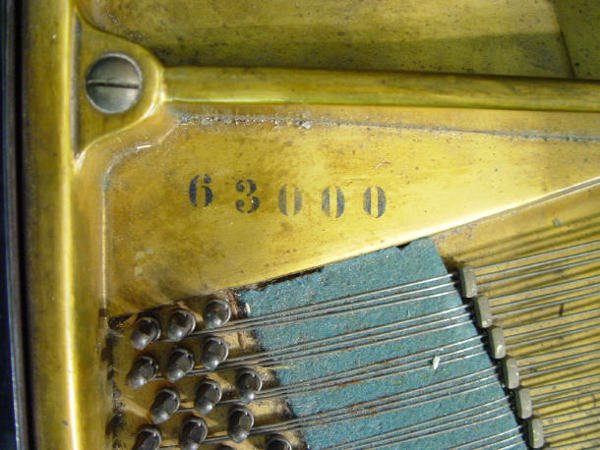 68: Ebonised C Bechstein baby grand piano with matching - 5