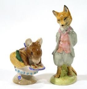 Two Hand Painted Beswick Beatrix Potter Figures, A