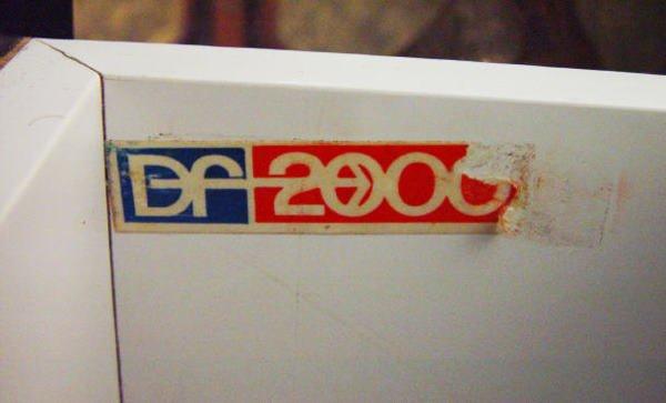 22: Raymond Lowey - 1960s moulded plastic sideboard ser