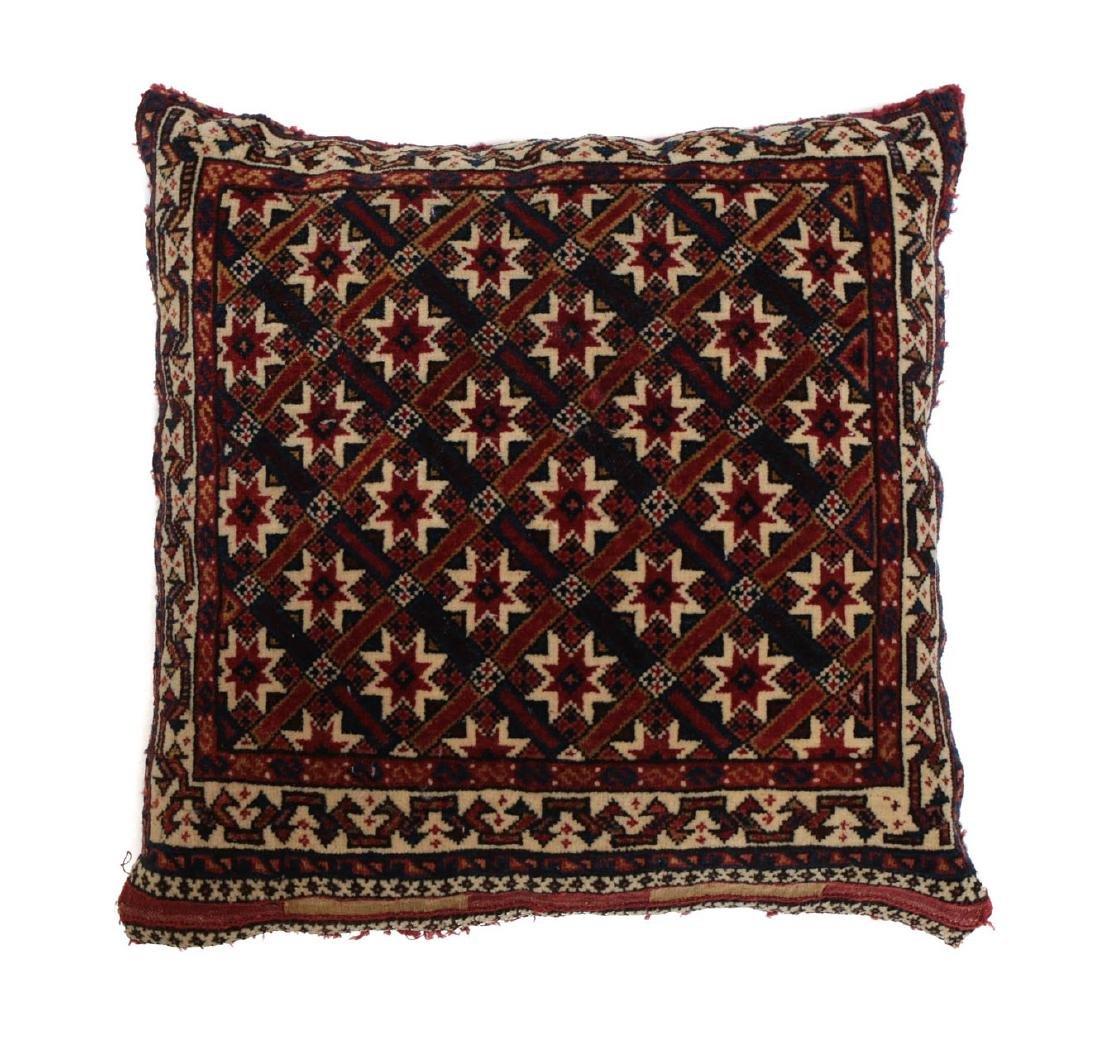 Qashqai Kashai Wool Pillow c1900