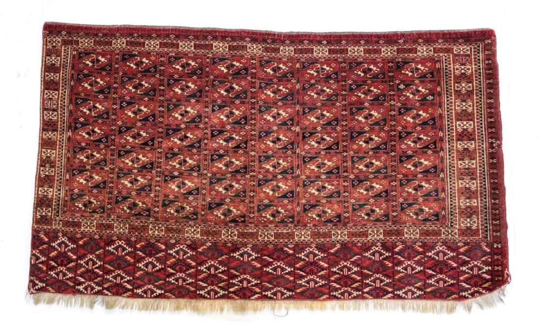 Antique Turkemen rug, c.1900