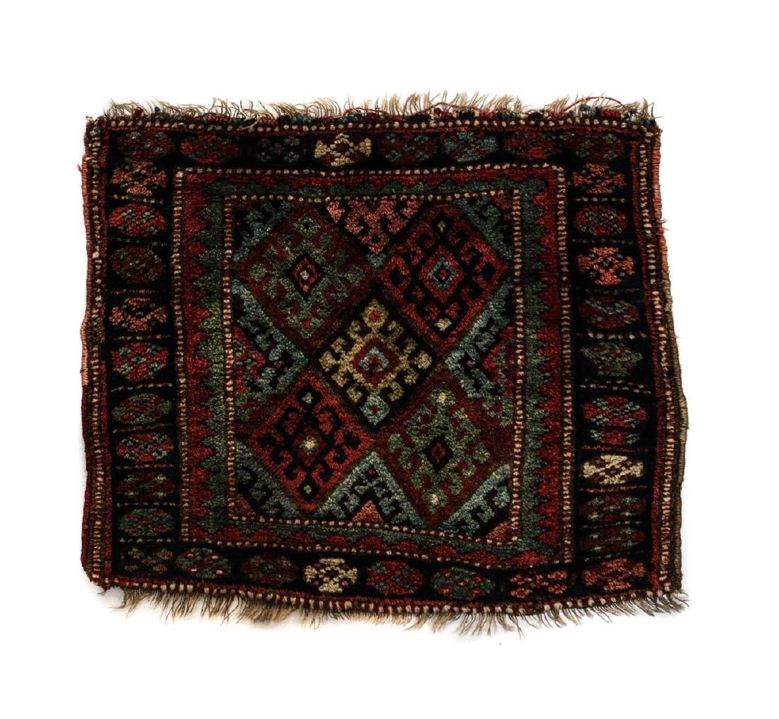 Antique Kurdish Wool Mat