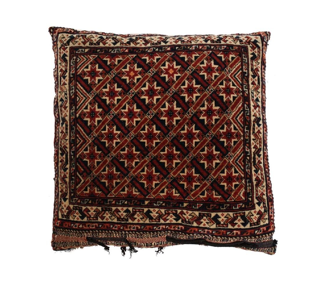 Qashqai Kashkai Wool Pillow c1900