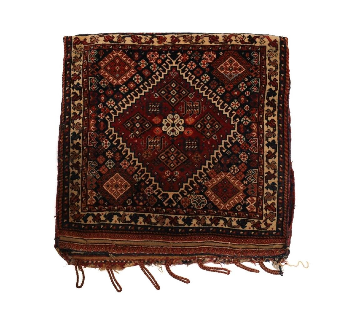 Qashqai Kashkai Wool Pile Cushion Cover
