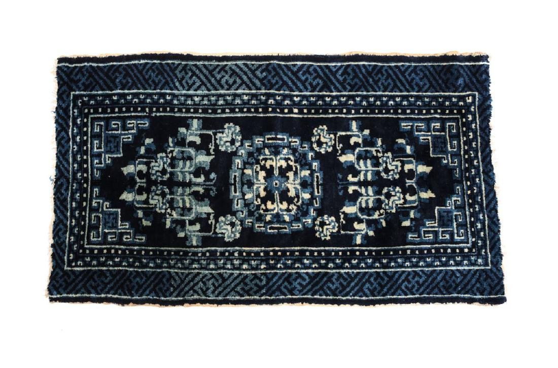 Chinese Wool Rug 19th Century