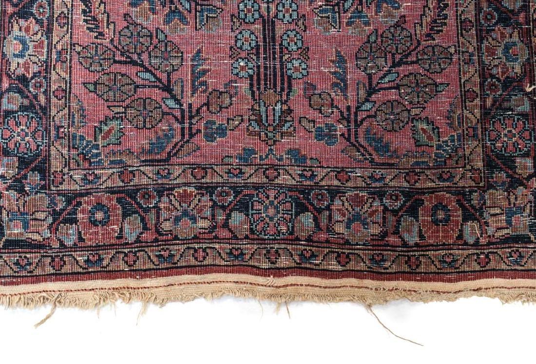 Sarouk Wool  Mat  c1900 - 5