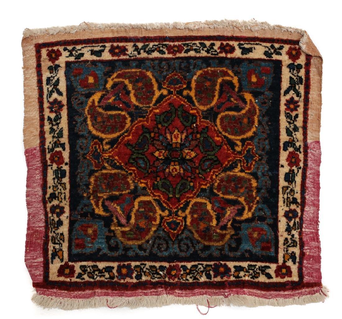 Persian Wool Rug Paisley c1920