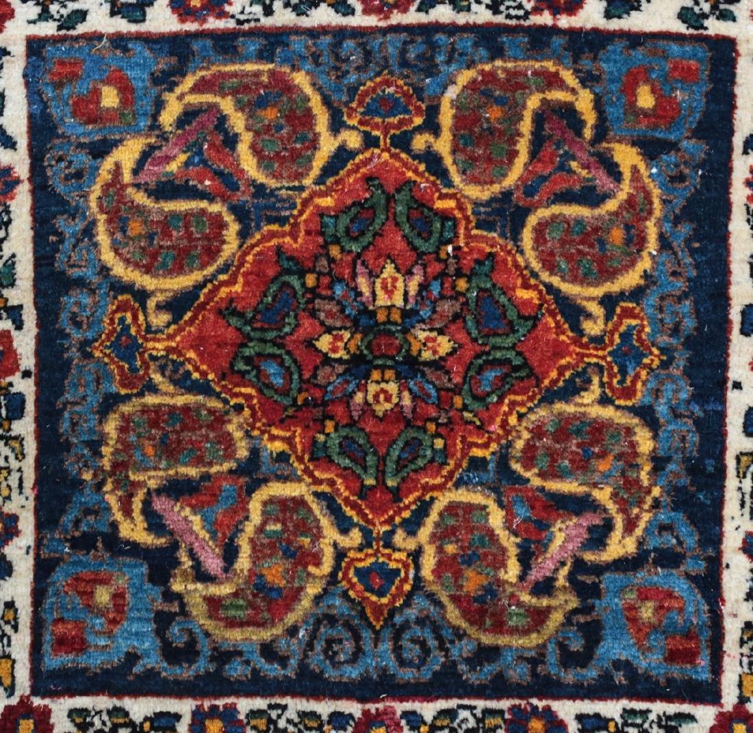 Persian Wool Rug Paisley c1920 - 2