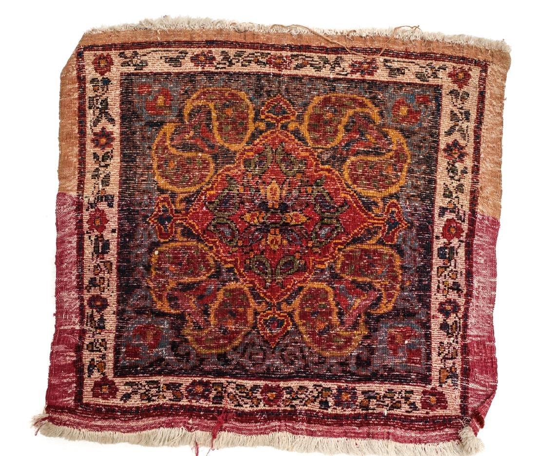 Persian Wool Rug Paisley c1920 - 3