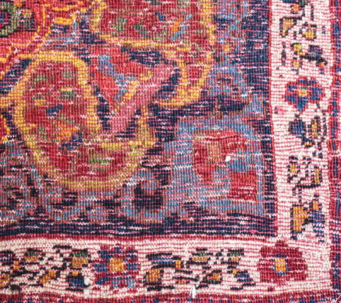 Persian Wool Rug Paisley c1920 - 4