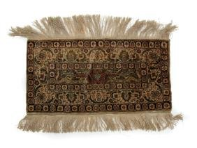 Antique Tabreze Sampler Rug, c.1900