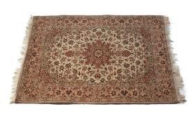 Isfahan Wool and Silk Rug, c.1950