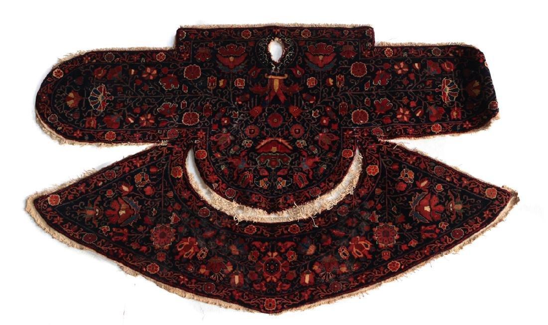 Qashqai Kashkai Saddle back c1900