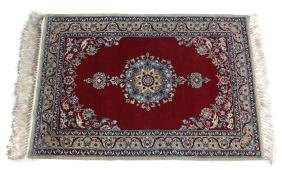 Isfhan Wool & Silk Rug, c1960