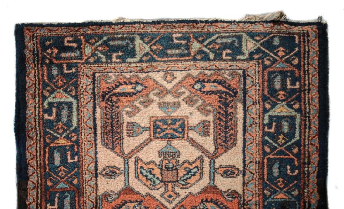 Hamadan Wool Rug,  c1930 - 2