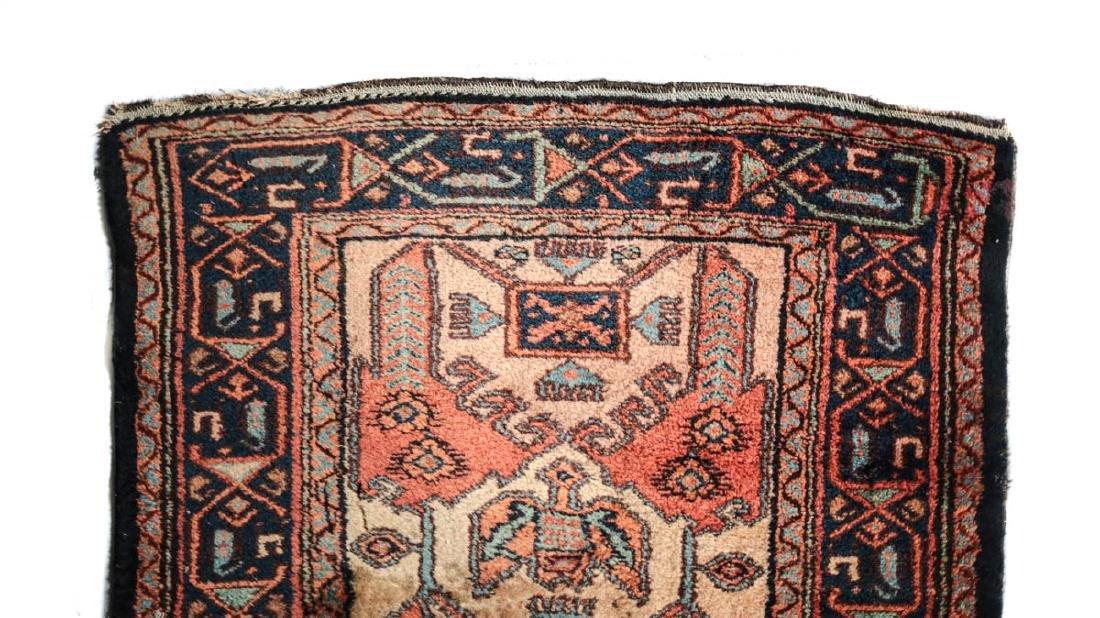 Hamadan Wool Rug,  c1930 - 3