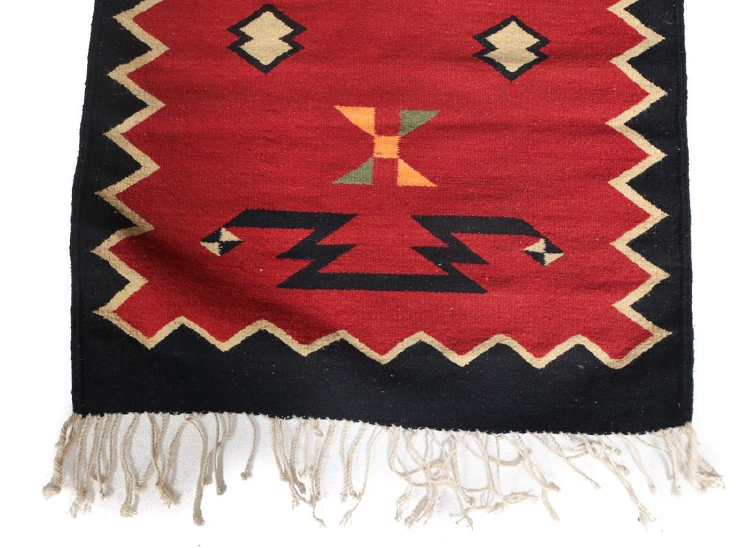 Kilim Wool Cross Rug, c1980 - 3