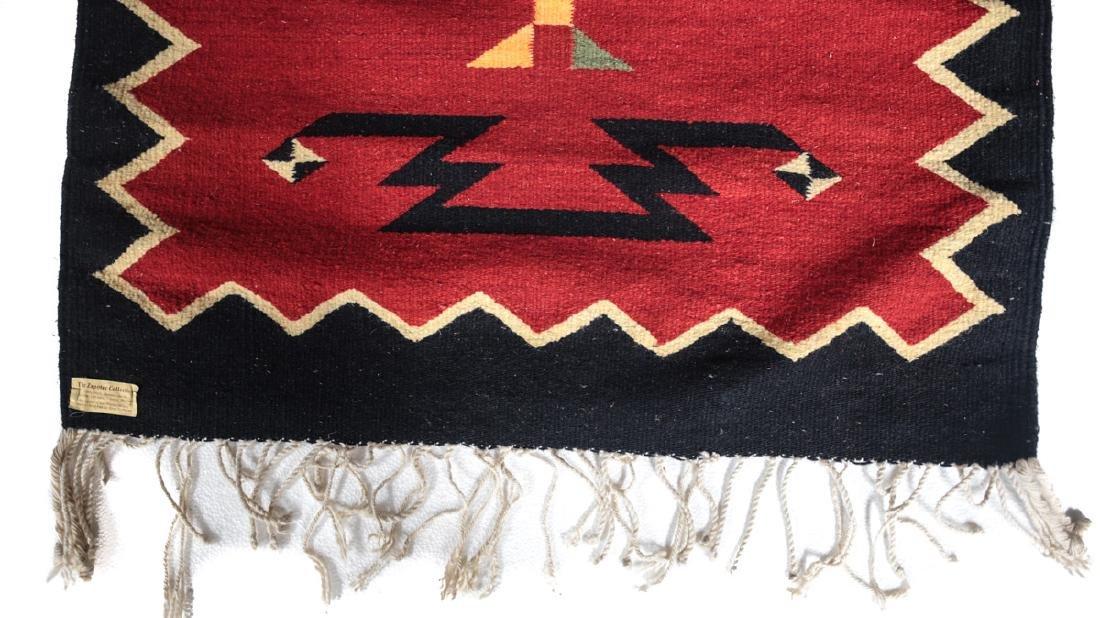 Kilim Wool Cross Rug, c1980 - 7