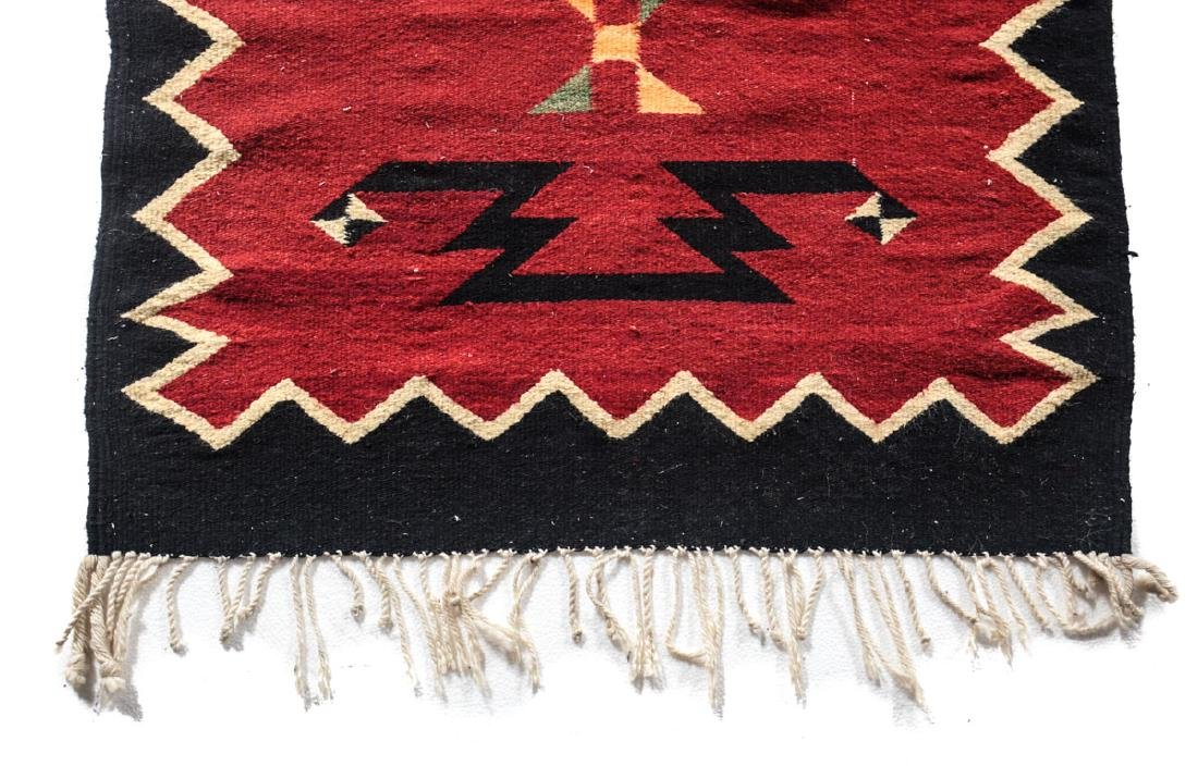 Kilim Wool Cross Rug, c1980 - 8