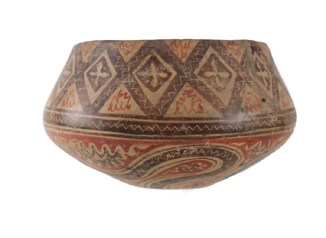 Pre-Columbian Panamanian Bowl, 200BC-200AD Snake