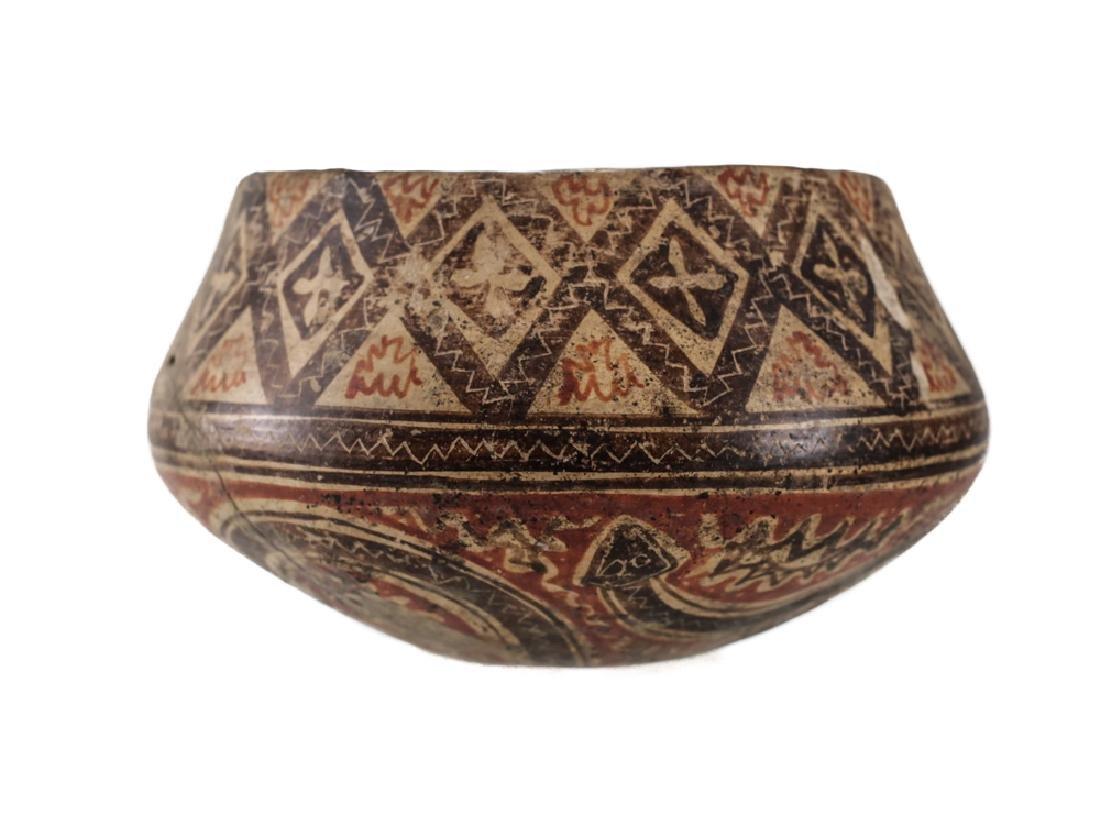 Pre-Columbian Panamanian Bowl, 200BC-200AD Snake - 2