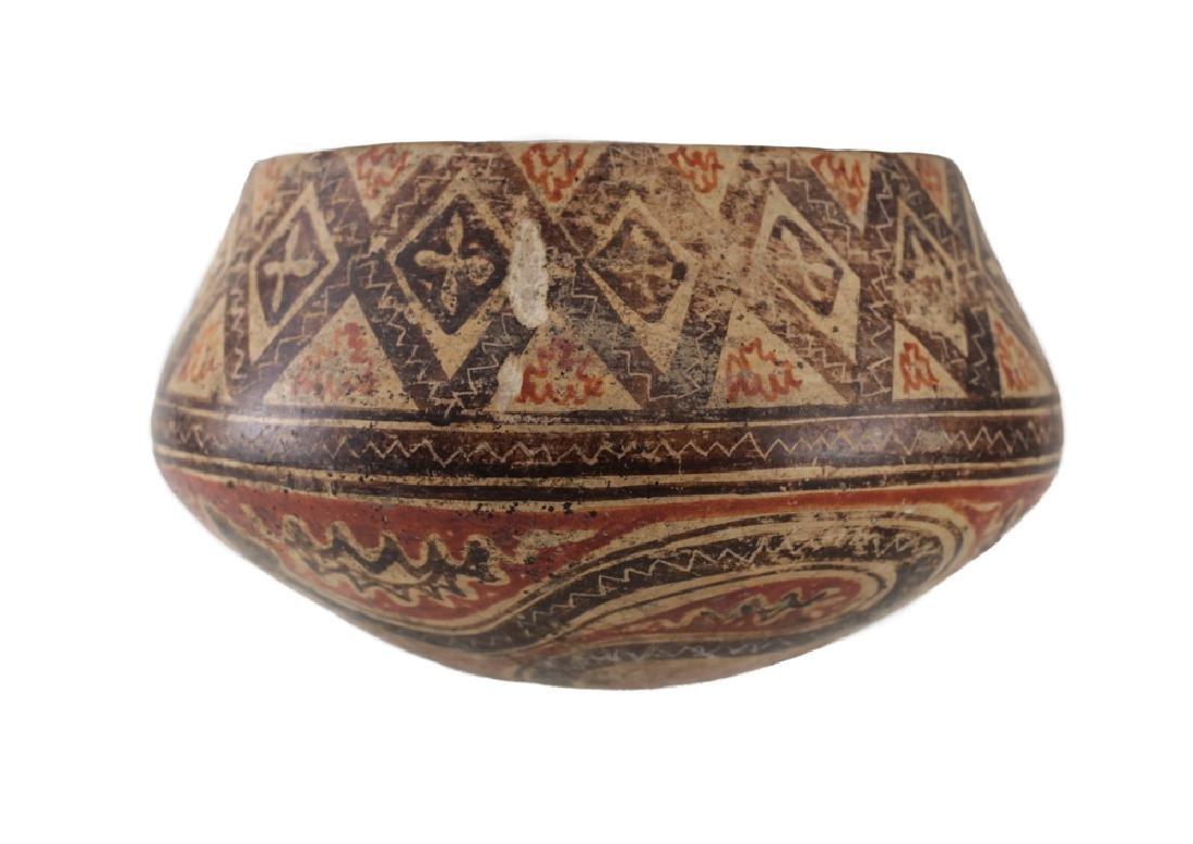 Pre-Columbian Panamanian Bowl, 200BC-200AD Snake - 3