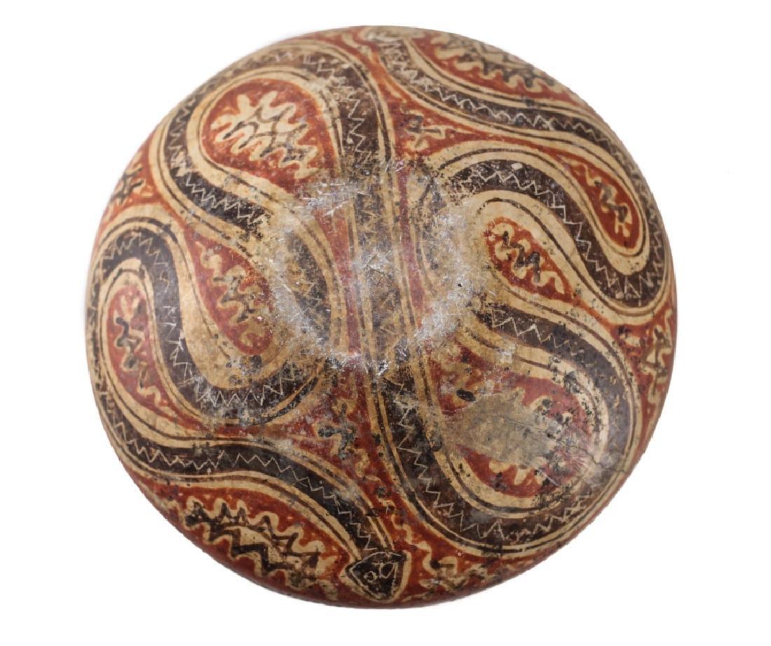 Pre-Columbian Panamanian Bowl, 200BC-200AD Snake - 5