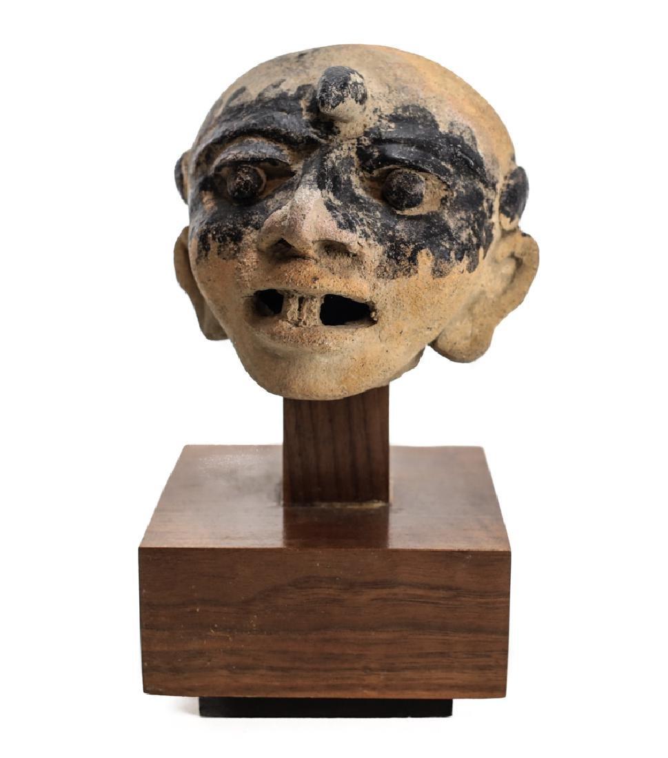 Pre-Columbian VERACRUZ Head Fragment, 500AD