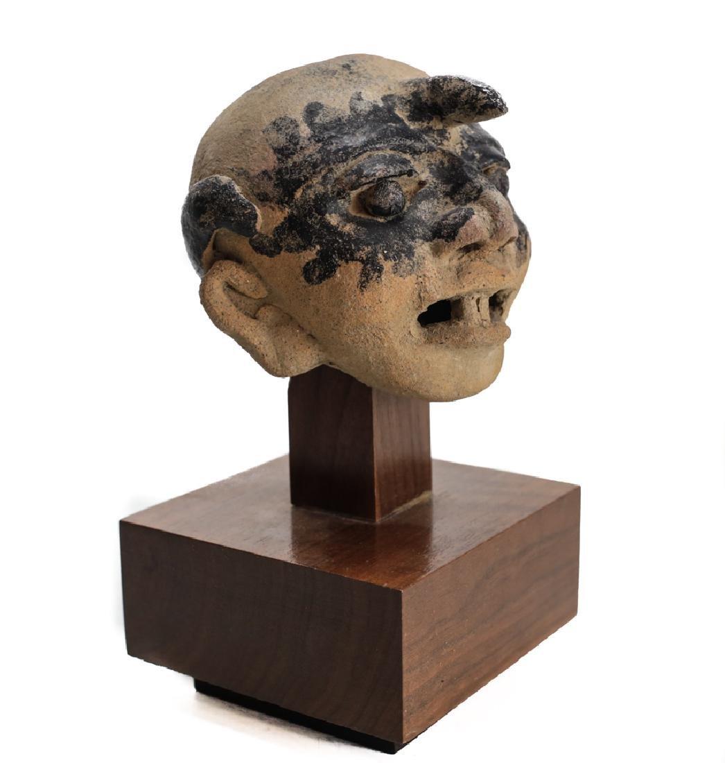 Pre-Columbian VERACRUZ Head Fragment, 500AD - 2