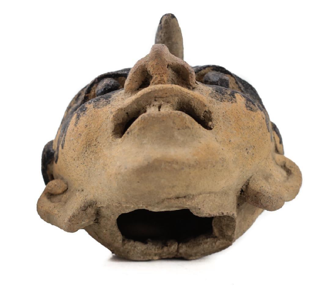 Pre-Columbian VERACRUZ Head Fragment, 500AD - 4