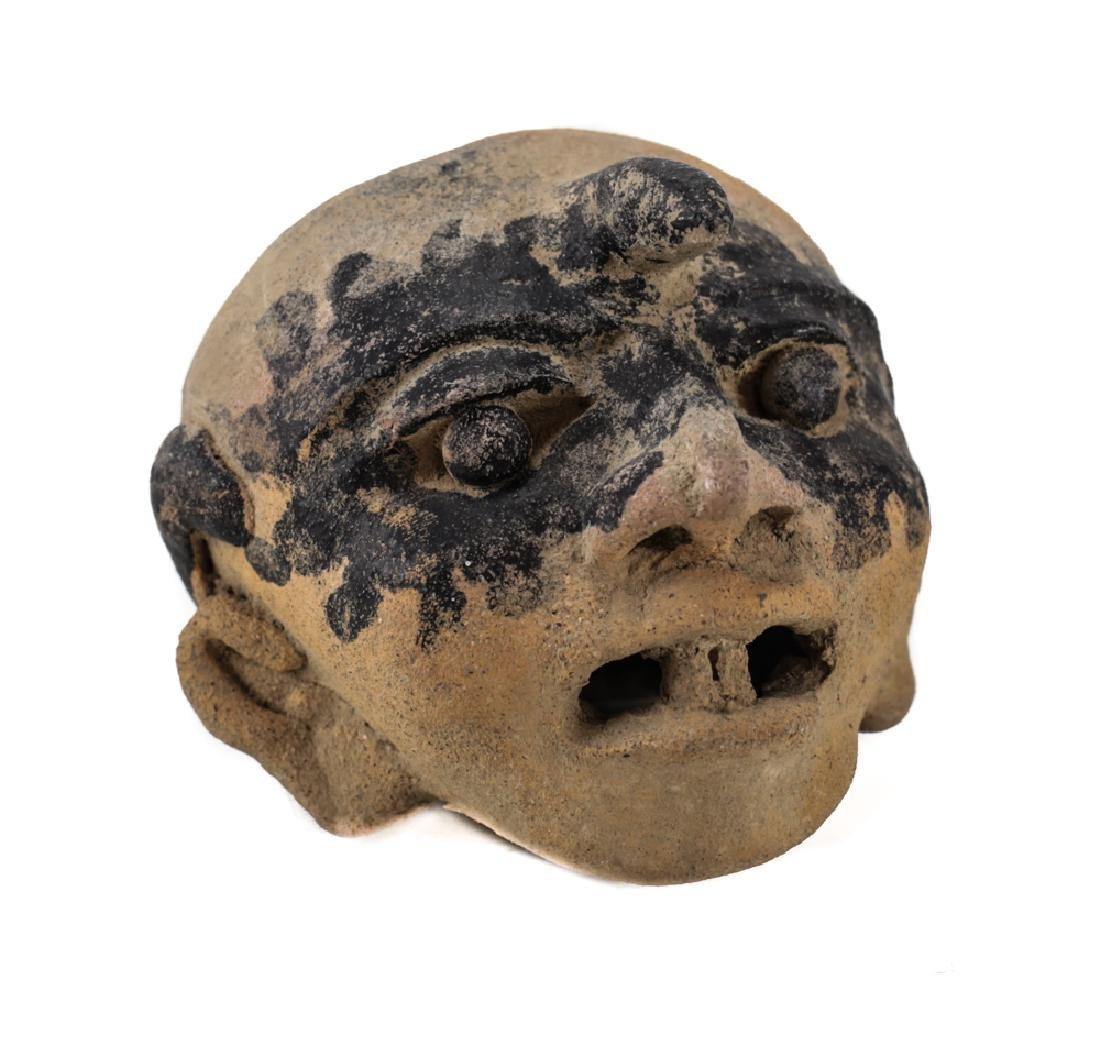 Pre-Columbian VERACRUZ Head Fragment, 500AD - 5