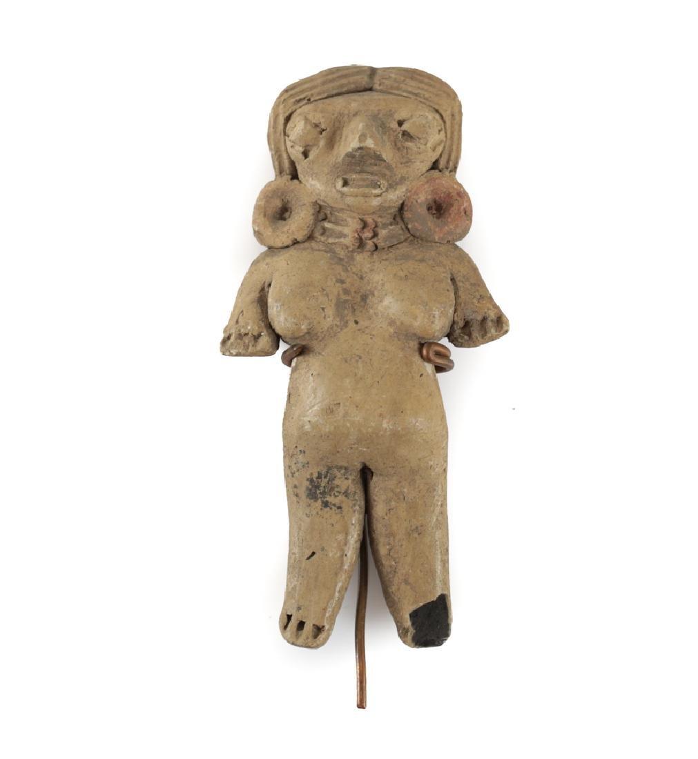 Pre-Columbian Pottery, CHUPICUARO Standing Female
