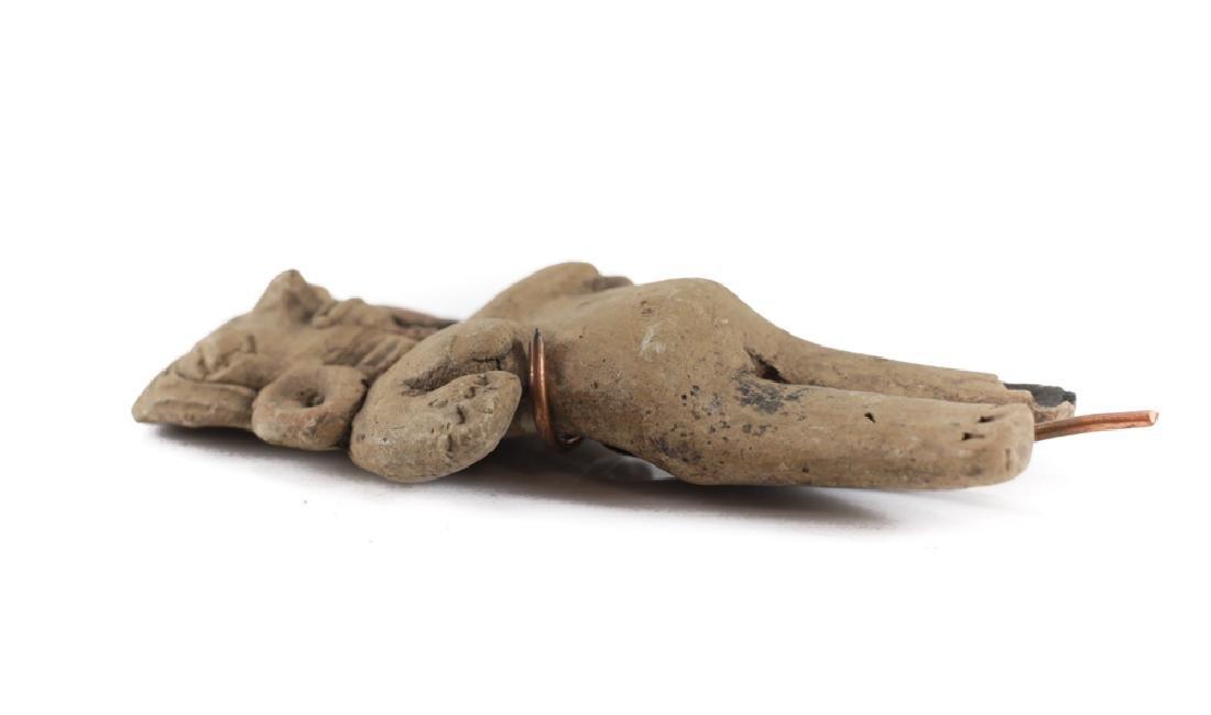 Pre-Columbian Pottery, CHUPICUARO Standing Female - 3