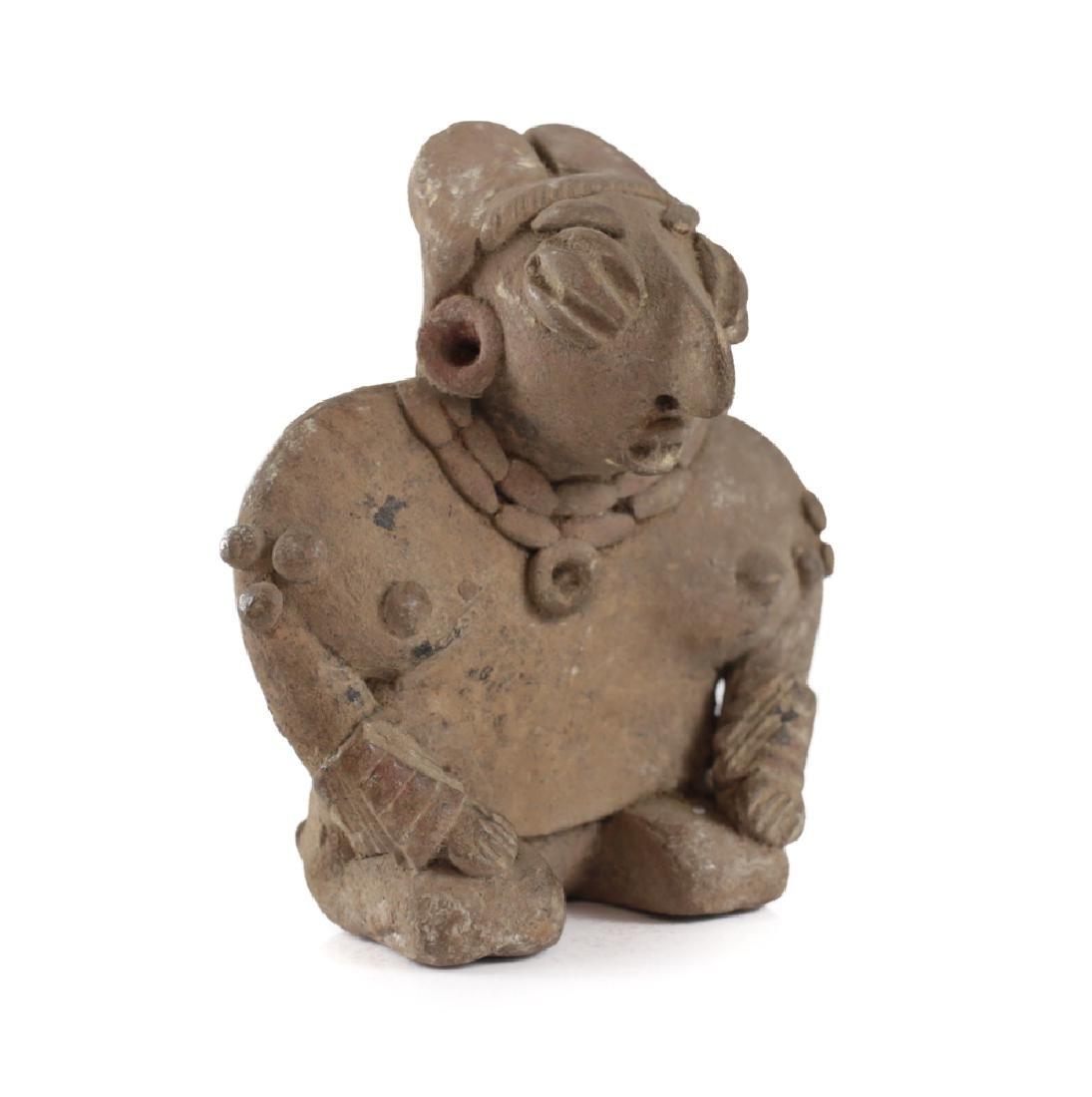 Pre-Columbian Pottery, CHUPICUARO kneeling Female