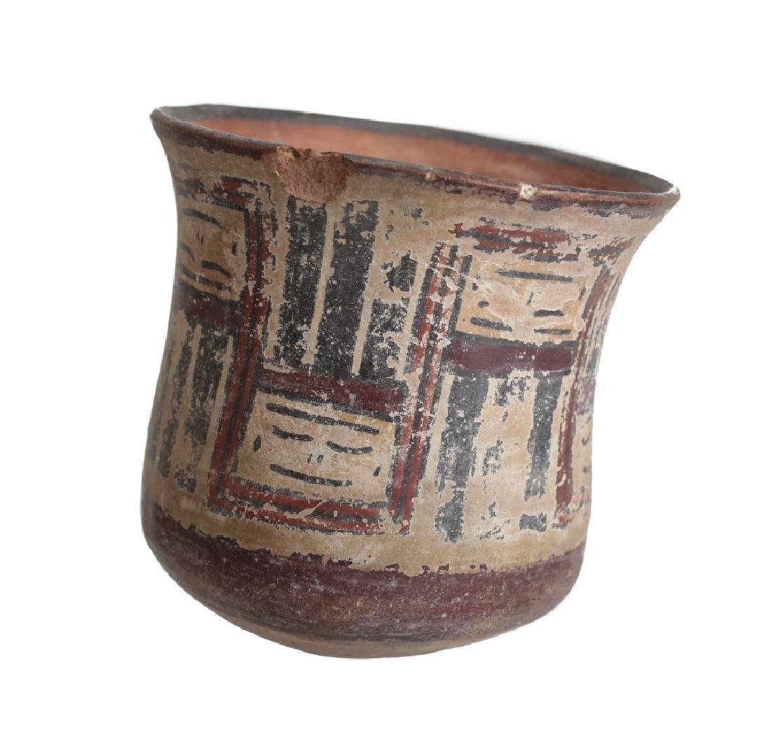 Pre Columbian NAZCA Pottery Kero Cup