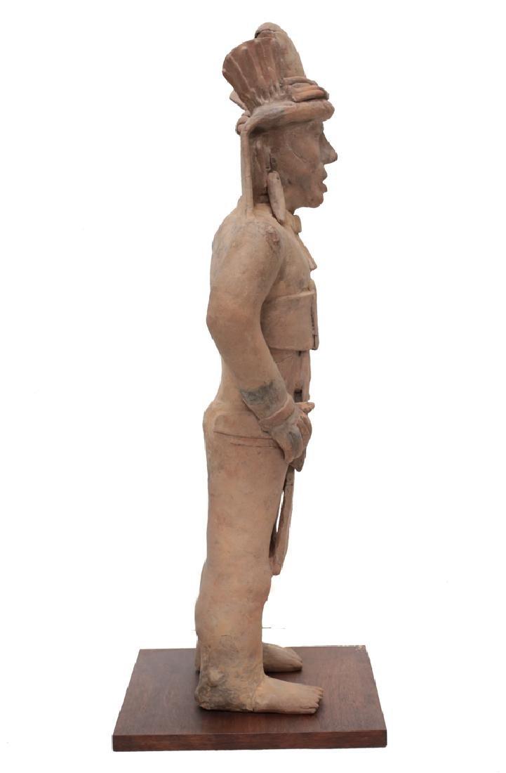 Large Pre Colombian VERACRUZ Standing Figure Remojadas - 2