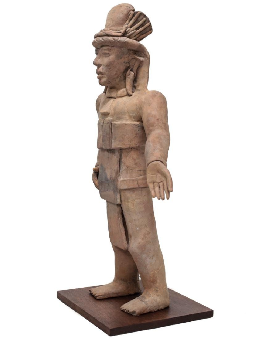 Large Pre Colombian VERACRUZ Standing Figure Remojadas - 4