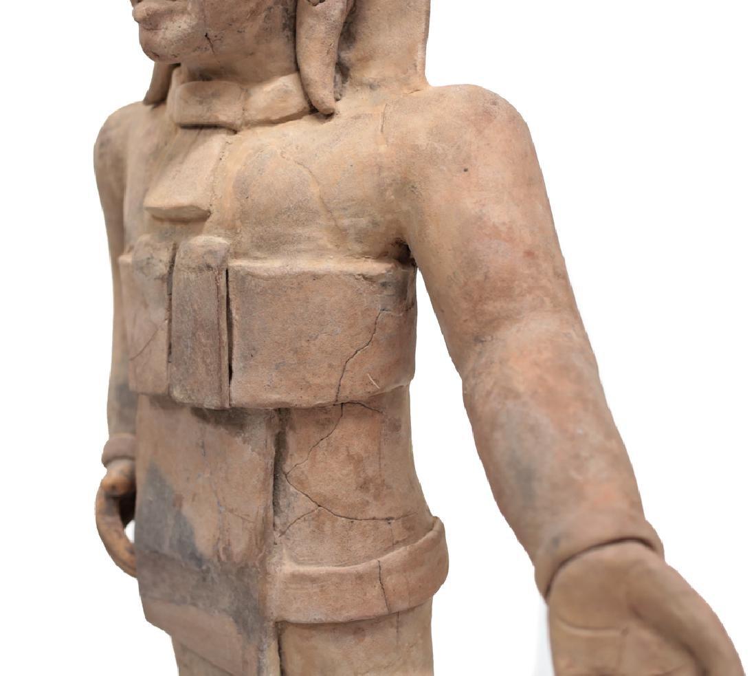 Large Pre Colombian VERACRUZ Standing Figure Remojadas - 5